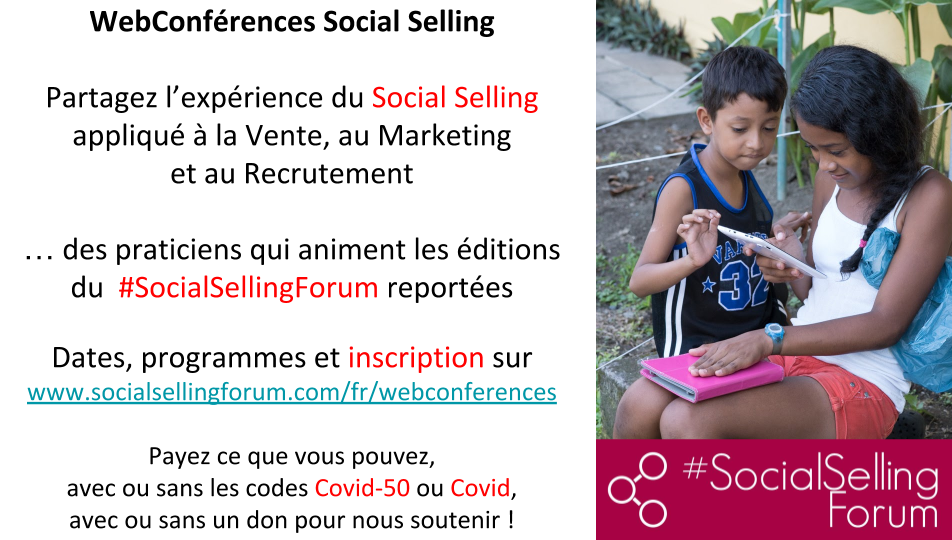 #SocialSellingForum & MasterClass #EnLigne