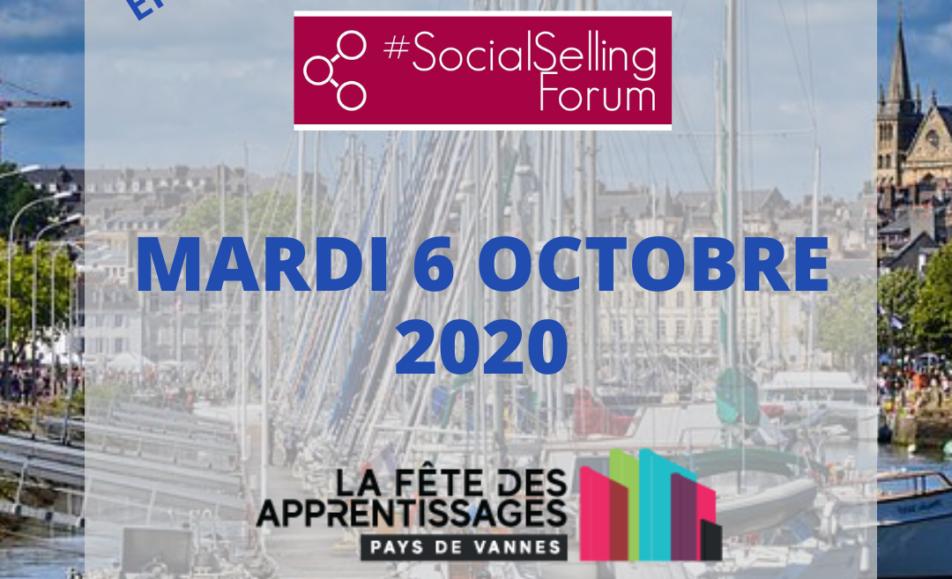 6 octobre – Fête des Apprentissages (Vannes) – #SocialSellingForum #EnLigne